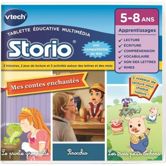 VTECH e-Book animé Contes Traditionnels