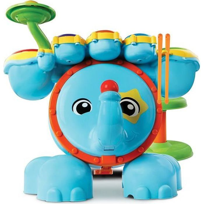 VTECH BABY - Jungle Rock - Batterie Eléphant - Jouet Musical Enfant