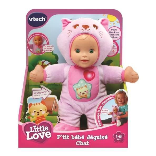 Poupon Little Love bébé Chat - Vtech