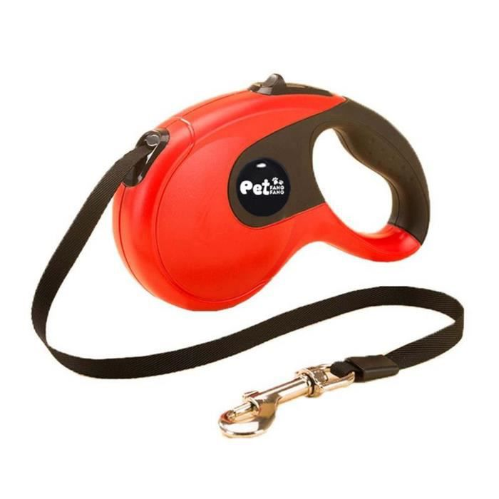 Retractable Dog Leash, One Button Control Traction Rope, Durable 16ft Walking Leash For Small M 3zu4a0