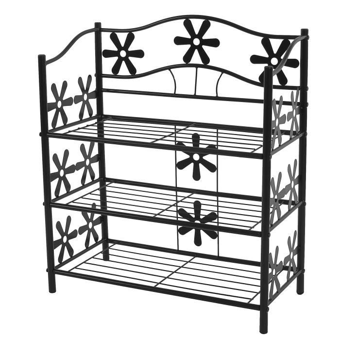 range chaussures etagere metal. Black Bedroom Furniture Sets. Home Design Ideas