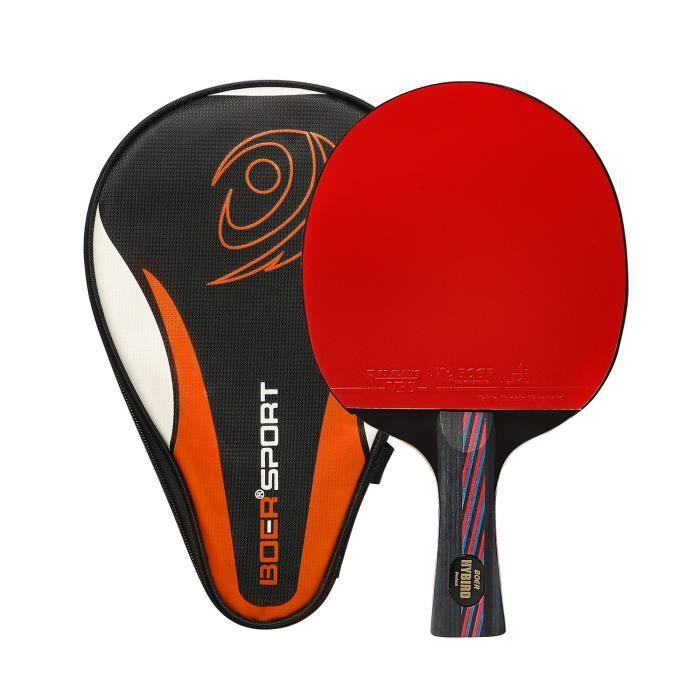 RAQUETTE TENNIS DE T. Ancees Raquette de Ping Pong, Pro Carbon Raquette