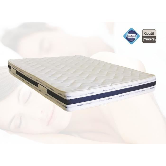 matelas 120x190 luxe grand confort achat vente matelas cdiscount. Black Bedroom Furniture Sets. Home Design Ideas