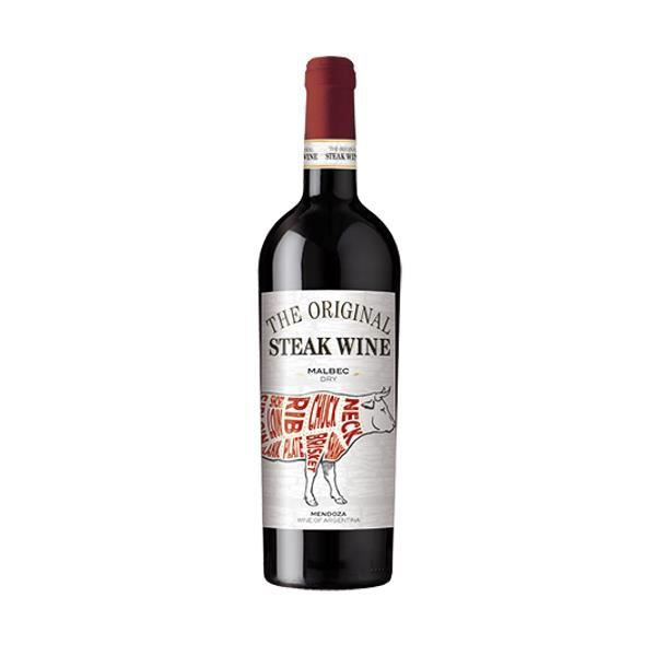 VIN ROUGE The Original Steak Wine Malbec - Vin rouge d'Argen
