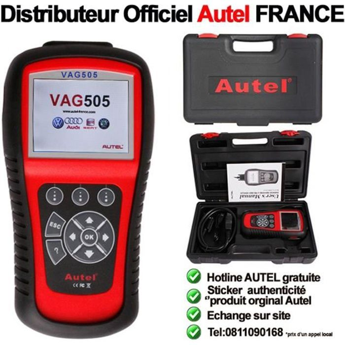 autel vag505 maxiservice appareil diagnostic de pannes. Black Bedroom Furniture Sets. Home Design Ideas