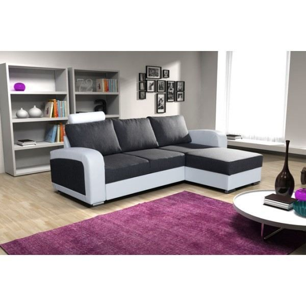 Canap d 39 angle 4 places bones angle droit achat vente canap sofa - Canape angle 2 places ...