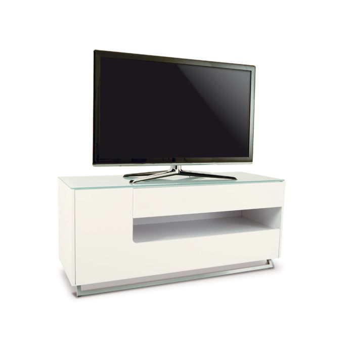 meuble tv moderne julio laqu blanc achat vente meuble. Black Bedroom Furniture Sets. Home Design Ideas