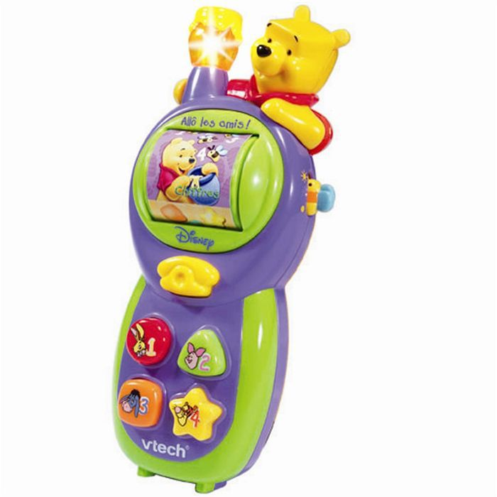 vtech winnie allo les amis achat vente t l phone jouet vtech winnie allo les amis cdiscount. Black Bedroom Furniture Sets. Home Design Ideas