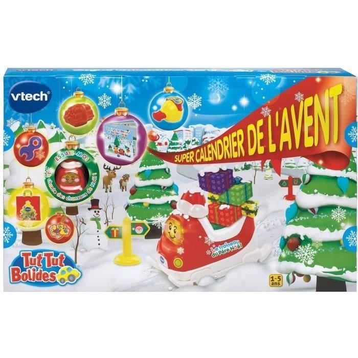 vtech tut tut bolides super calendrier de l 39 avent achat vente calendrier de l 39 avent. Black Bedroom Furniture Sets. Home Design Ideas