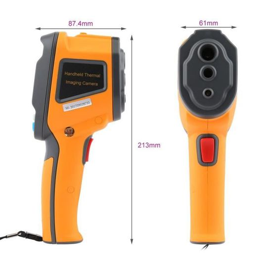 SWIHEL Thermom/ètre Infrarouge Laser Digital sans Contact IR Pistolet de temp/érature /écran.