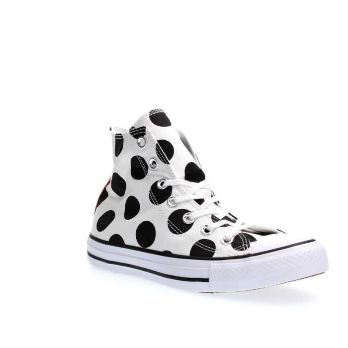 CONVERSE SNEAKERS Femme WHITE BLACK, 36.5