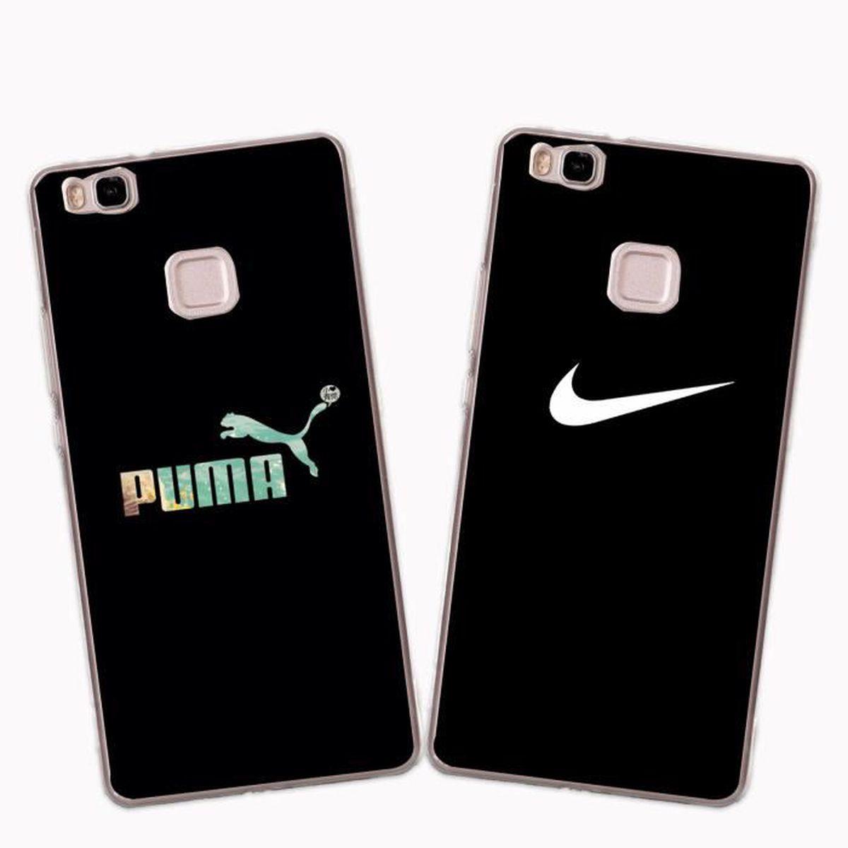 2 X Coque Huawei P9 Lite , Nike Doux Souple Transparent TPU Housse ...