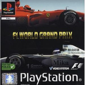 JEU PS1 F1 WORLD GRAND PRIX / JEU CONSOLE PLAYSTATION
