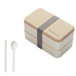 LUNCH BOX - BENTO  Micro-ondes Boîte à lunch japonaise en bois Bento