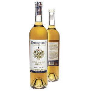 WHISKY BOURBON SCOTCH Whisky Thompson's Blended Sauternes finished 43° 7
