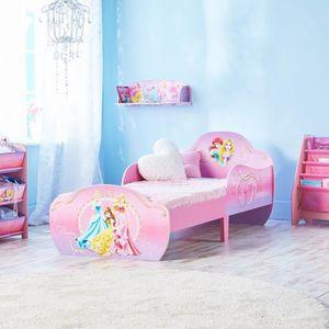 LIT EVOLUTIF Disney Princesses - Lit pour enfants avec espace d
