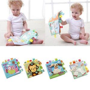 LIVRE D'ÉVEIL Livre Éveil Bébé d'Activité en Tissu Animal Anglai