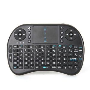 CLAVIER D'ORDINATEUR 2.4G Mini Clavier Sans Fil QWERTY Wireless Keyboar