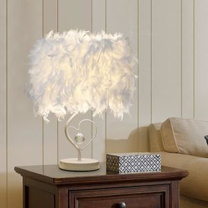 CHEVET 3W Luminaire plume lampe de chevet design adulte c