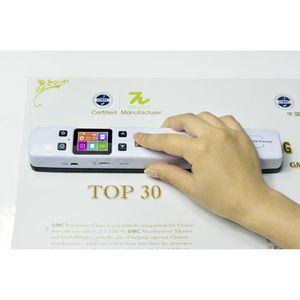 SCANNER Scanner de document A4 portable tenu dans la main