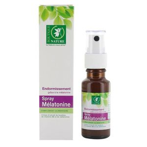 STRESS - SOMMEIL spray mélatonine réduction endormissement