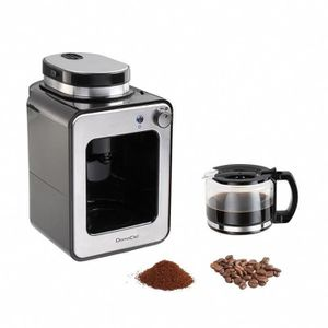 CAFETIÈRE Cafetière filtre 0.6L noir gris