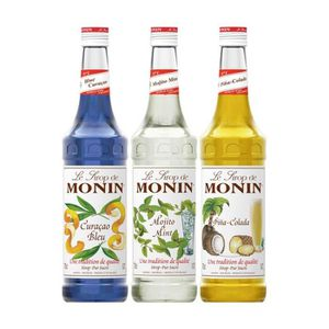 SIROP Assortiment Monin Cocktails (pack 3x70cl)