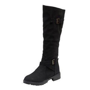 Bottes Femmes Bottines Combat à Lacets Armée plat militaire Semelle Antidérapante Bottes Chaussures Taille