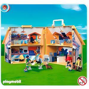 UNIVERS MINIATURE Playmobil 5870 Clinique Vétérinaire Transportable