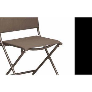 pliante Chaise toile toile et en acier 6Yfbg7yv