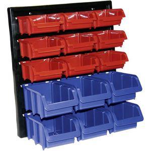 Lot de 15 porte-outils Rouge