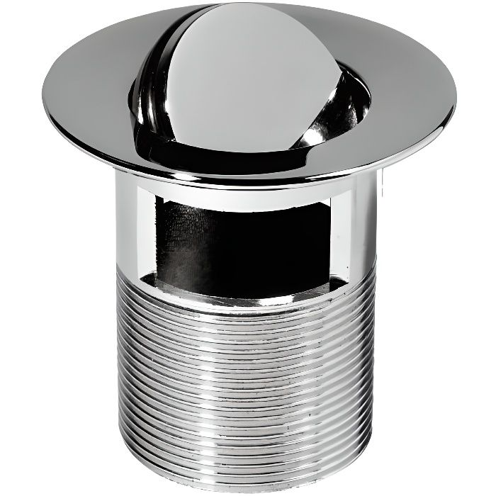 WIRQUIN Bonde lavabo design clapet rotatif 75mm