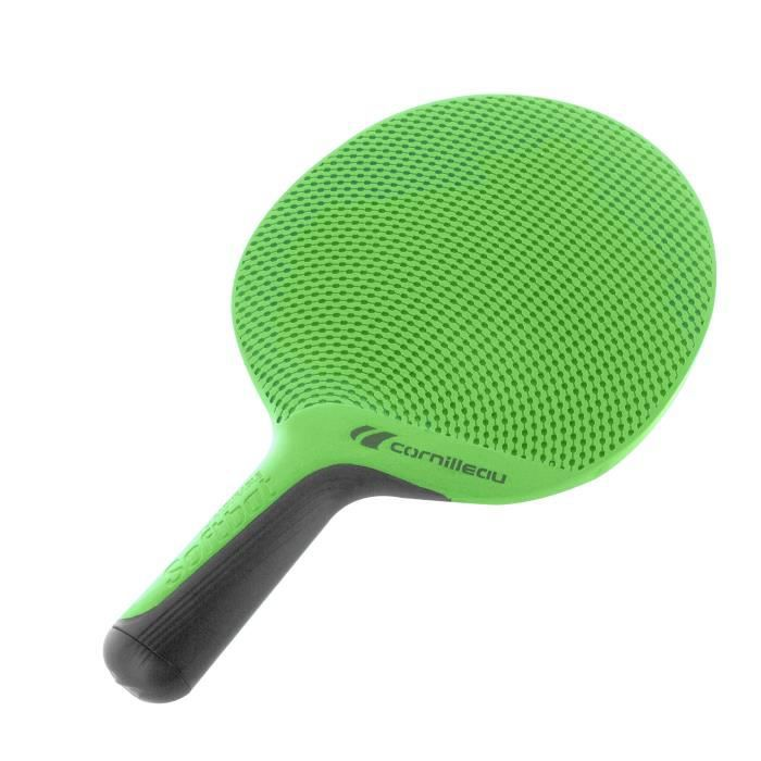 CORNILLEAU Raquette de Tennis de Table SOFTBAT Outdoor - Vert