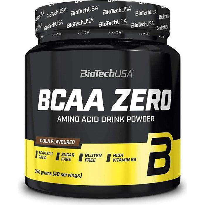 BCAA Zero 360g COLA Biotech USA - Musculation Fitness