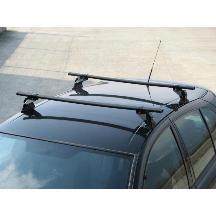 Barres de toit MERCEDES Classe E 4 portes (95- 2001) Fixation standard portière
