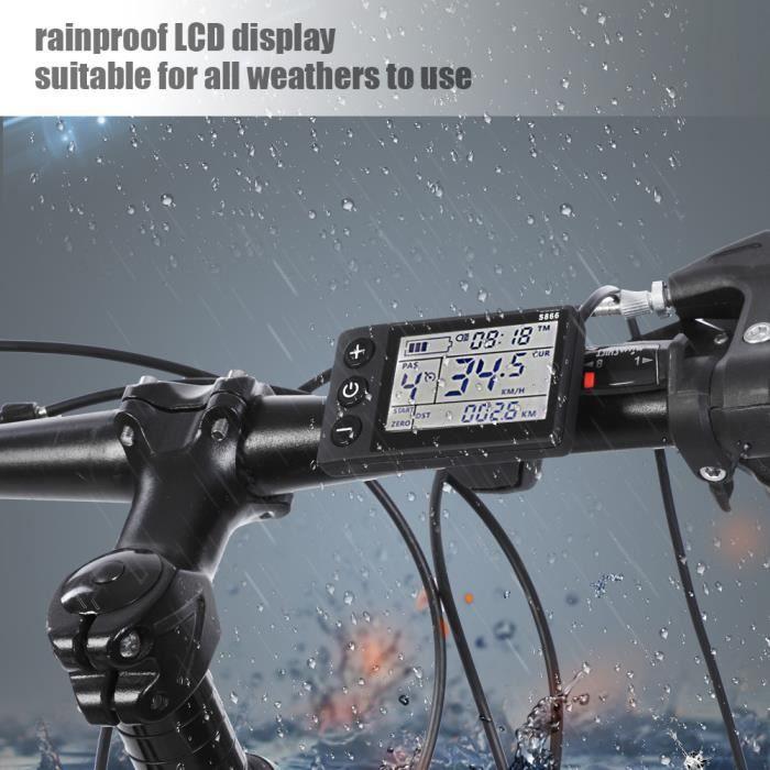 36V-48V LCD Panneau Contrôleur Kit Pour Vélo Électrique Scooter HB043 -ALA
