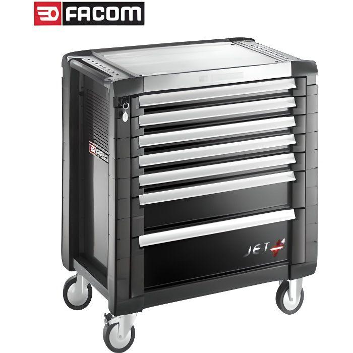 Servante Noir 7 tiroirs Facom JET.7GM4PB