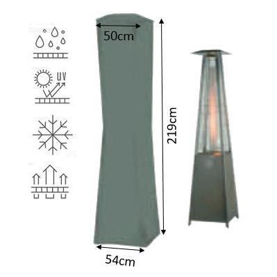 Housse de protection pour parasol chauffant brasero gamme confort gris