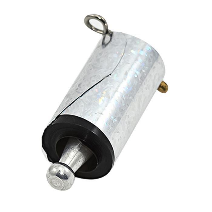 Baguette magique de tige d'éjection de télescopique en métal martial en argenté 1Pc pour TEMOIN DE RELAIS - BATON DE RELAIS