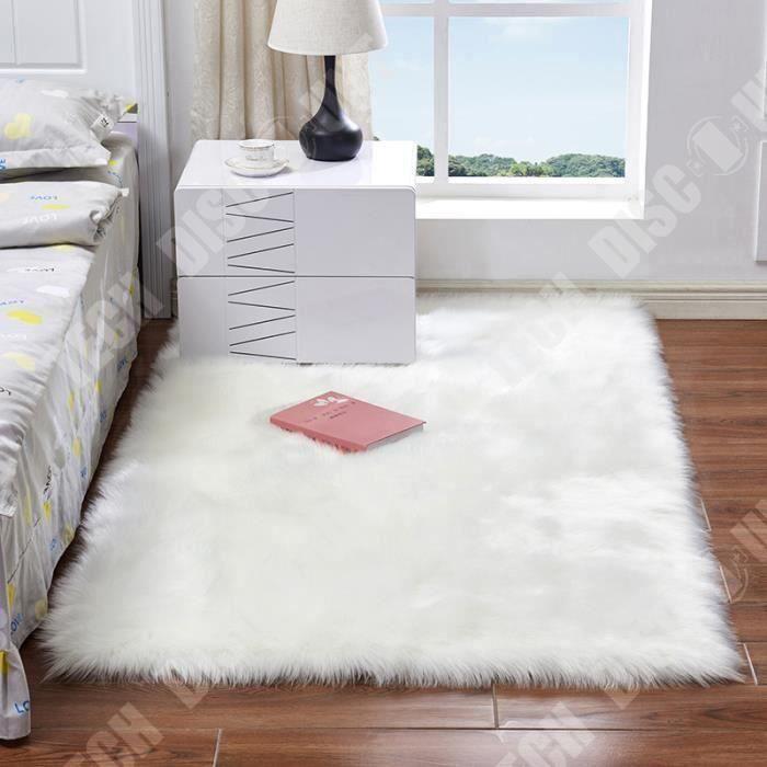 TD® Tapis de chambre rectangulaire synthétique design moderne et contemporain décoration chambre tendance intérieur embellir sol