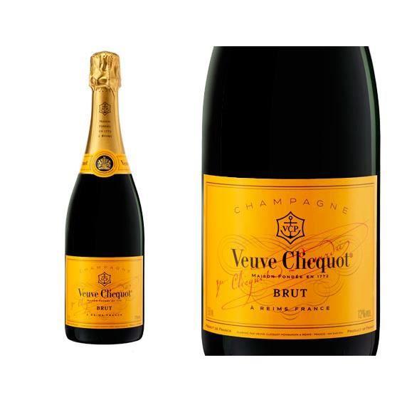 Champagne Veuve Clicquot Brut -Carte Jaune