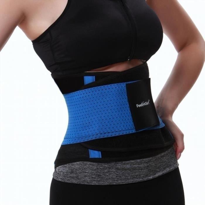 Fitness minceur Body Slimming Tuning Ceinture Minceur Ceinture de mise en forme du corps - Bleu