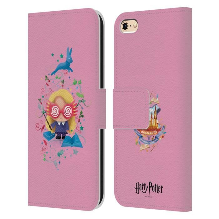 Officiel Harry Potter Luna Lovegood Deathly Hallows II Coque en Gel molle pour iPhone 6