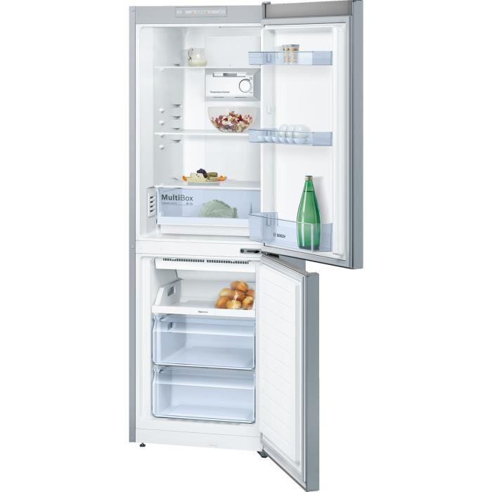 RÉFRIGÉRATEUR CLASSIQUE BOSCH KGN33NL30  - Réfrigérateur combiné - 279 L (