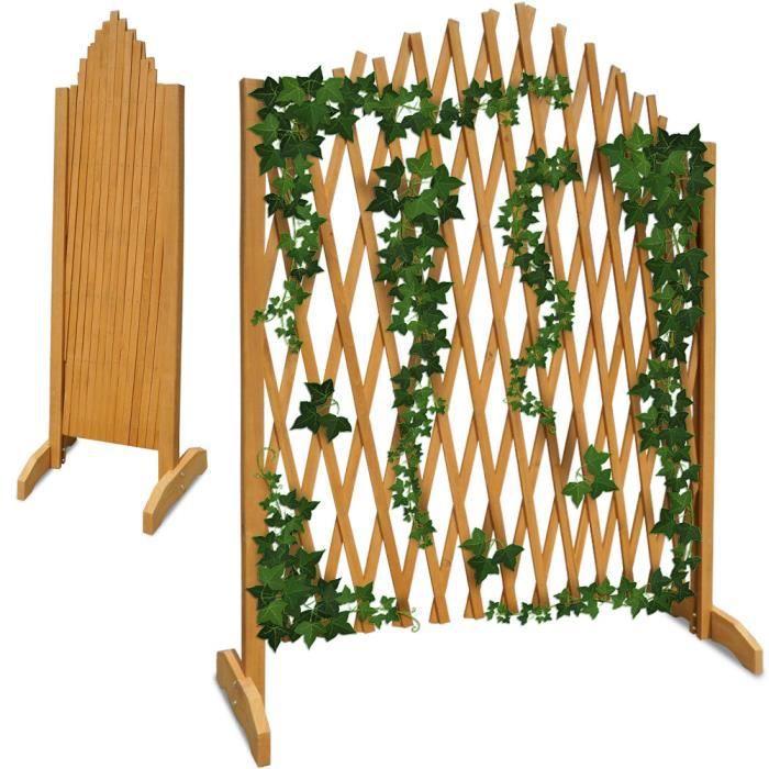 Brise vue bois jardin