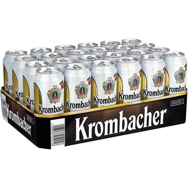 BIÈRE Krombacher Pils bière Allemagne Beer 24 x 0,5l