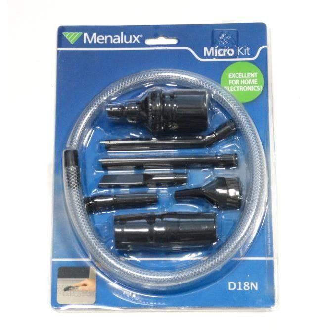 Menalux D18N Accessoires Aspirateur Kit pour Nettoyage de Pr/écision
