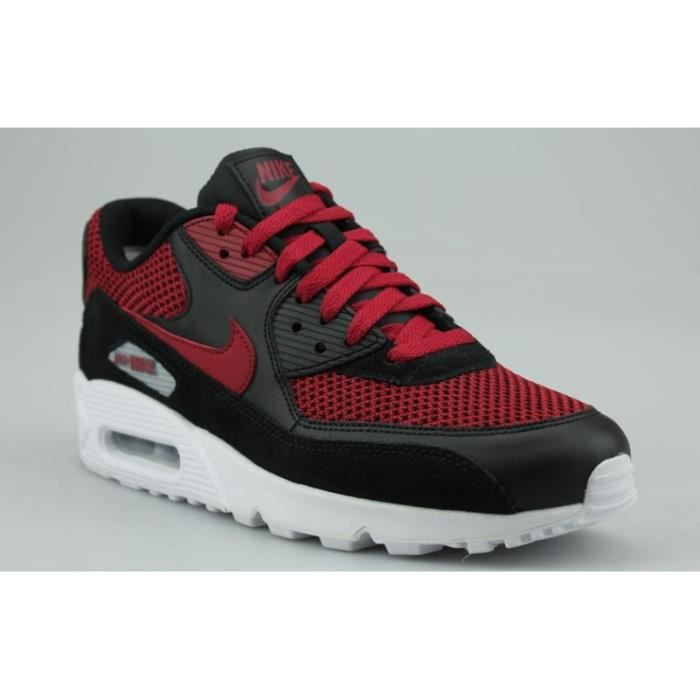 BASKET NIKE AIR MAX 90 ESSENTIAL ROUGE