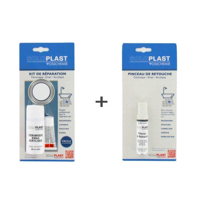 Pack Kit De Reparation Soloplast Ceramique Email Salle De Bain Achat Vente Peinture Vernis Pack Kit De Reparation Solo Cdiscount