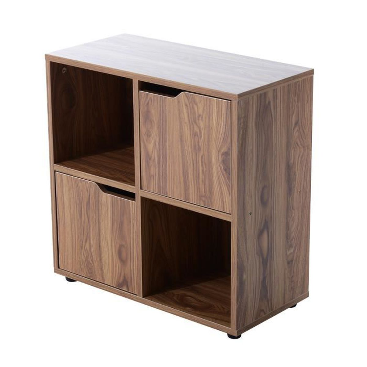 Meuble de rangement biblioth que design contemporain 2 for Meuble 12 cases